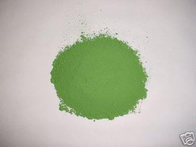 500-25 Willow Green Concrete Powder Color 25 Lbs. Makes Stone Pavers Tile Bricks