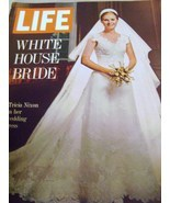 Vintage Life Magazine with Tricia Nixon in her Wedding Dress 1971 - $8.00