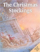 Education Holiday McGraw Hill Fiction Storybook Christmas Stockings Flap Book - $14.24