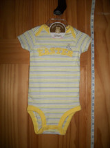 Carter Baby Clothes 0M-3M Newborn First Easter Creeper Yellow Holiday Bodysuit - $12.34