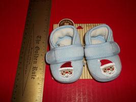 Carter Baby Clothes NB Christmas Pre-Walk Slipper Santa Newborn Footwear... - $7.59