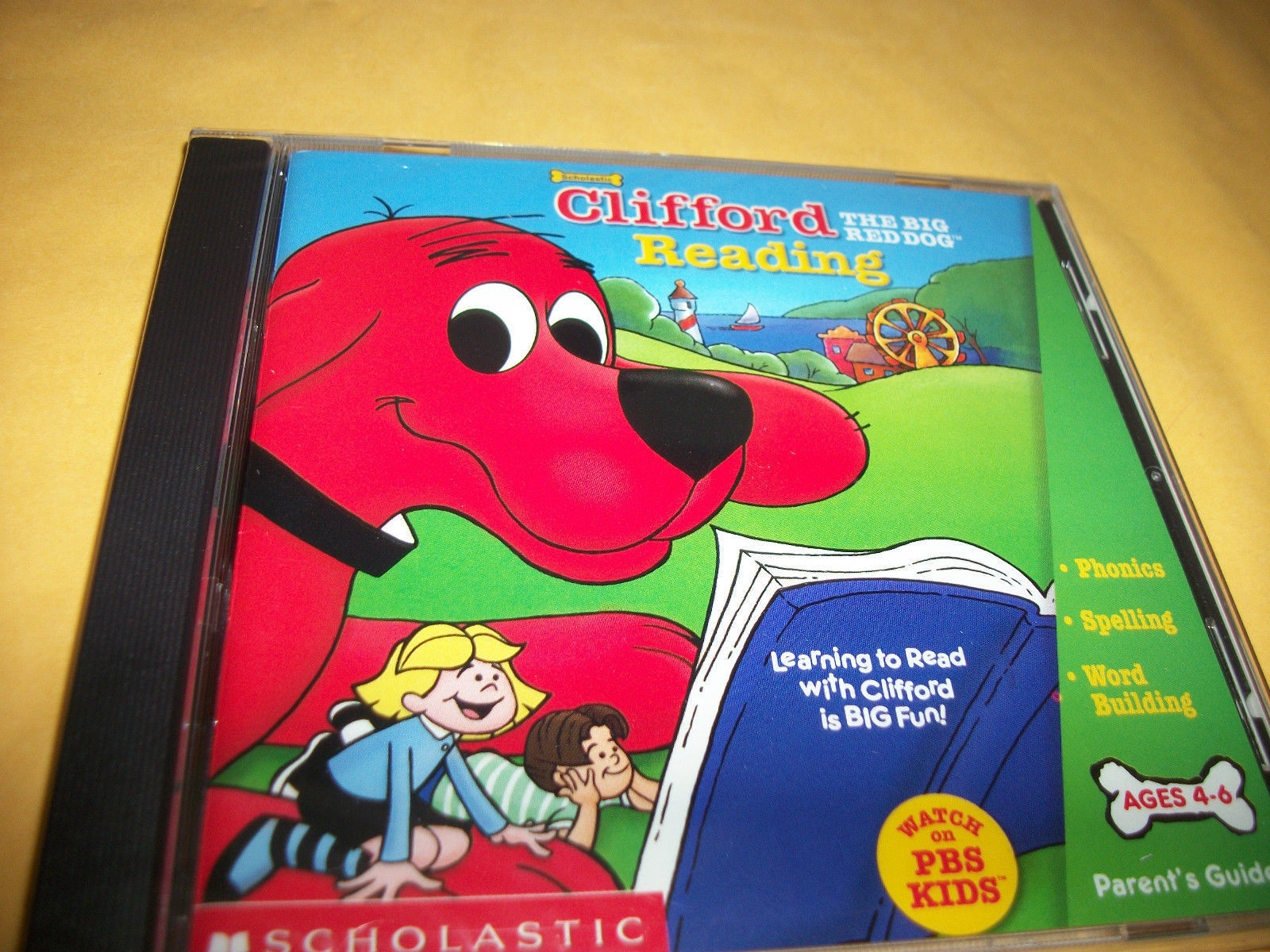Clifford The Big Red Dog Music Cd