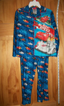 Disney Cars Baby Clothes 4T Toddler Boy Sleepwear Set PJ Blue Pajama Pant Outfit - $16.14