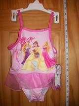 Disney Princess Baby Clothes 2T Toddler Princesses Bathing Suit Swim Swimwear - $14.24
