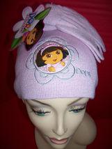 Dora The Explorer Baby Clothes Nick Toddler Girl Nickelodeon Hat & Glove... - $10.44