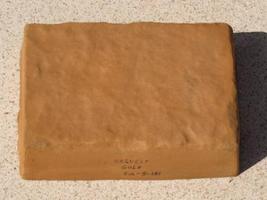 750-01 Harvest Gold Concrete Cement Powder Color 1 lb. Makes Stone Tiles Bricks image 2