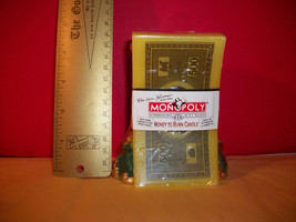 Toy Treasure Monopoly Board Game Yellow Money To Burn Candle Hasbro Gold Tokens - $18.99