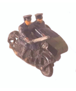 1940s Dinky Toys 42b Motorcycle w Side Car - $43.95