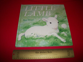 Scholastic Picture Book 2003 Little Lamb Soft-To-Touch Baby Feel And Rea... - $15.19