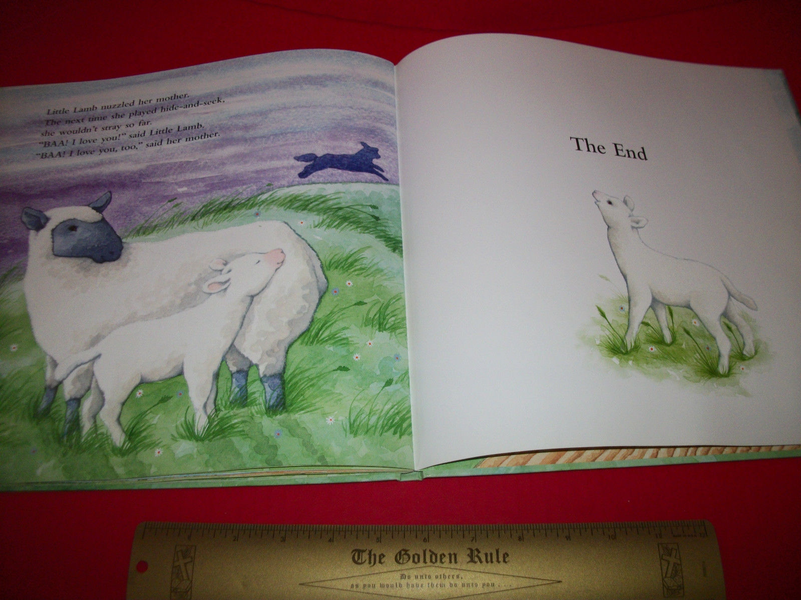 Scholastic Picture Book 2003 Little Lamb Soft-To-Touch Baby Feel And Read Story