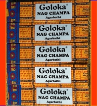 Goloka Nag Champa Incense Sticks   - $13.75