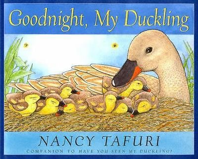 Scholastic Picture Book Story Goodnight My Duckling DJ Watercolors Art Artwork