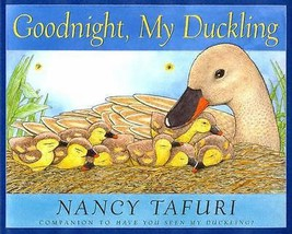 Scholastic Picture Book Story Goodnight My Duckling DJ Watercolors Art Artwork - $16.14