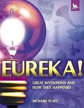 Education Gift Science Book Eureka! Great Inventions How They Happened Hardcover - $17.09