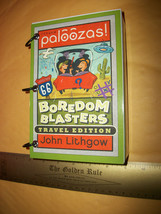 Craft Gift Paper Activity Kit John Lithgow Palooza Boredom Blaster Travel Book - $14.24