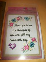 Craft Gift Sandi Phipps Thread Kit Counted Cross Stitch Special Keepsake... - $9.49