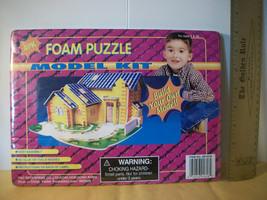 Toy Gift Build Activity Set 3D House Foam Puzzle Building Model Craft Kit Sculpt - $7.59