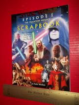 STAR WARS Movie Guide BOOK Episode I Phantom Menace Scrapbook DATA CARDS... - $9.99