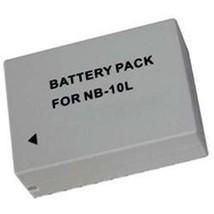 Battery NB-10L NB10L 5668B001 5668B001AA For Canon SX40 Hs SX40HS - $13.56