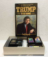 Trump The Game Board Game High Stakes Deal Making Play to Win 1989 Vintage - $68.31