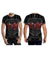 Acdc Black Ice Men's Fullprint T- Shirt - $20.99+