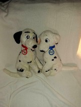 Mattel Disney's Pongo & Perdita 101 Dalmations Plush 14'' Inches 1991 - $98.99