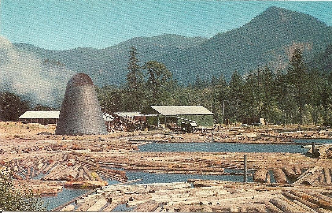 A Northwest Sawmill & Log Pond, Oregon, and 29 similar items