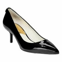 Michael Michael Kors Women's MK-Flex Kitten Pump Black Patent Shoes Size 11 - $74.24