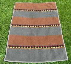 VTG Cannon Ibena Blanket Reversible Southwestern Pattern Plush Acrylic 5... - $59.99