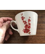 Starbucks Coffee Cherry Blossom Mug 2008 12 Oz. Red & White  Japanese - $12.82