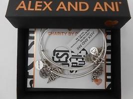 Alex and Ani Best Friends Set of 2 Bangle Bracelets Raf Silver NWT Box Card 2018 - $44.54