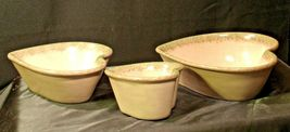 Stoneware Heart Shaped Serving Bowls AA-192037 (3 pieces) image 7