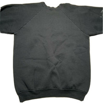 Vintage 80s 90s Fruit Of The Loom Raglan Irish Crewneck Sweatshirt 50/50 USA - $39.93