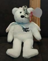 Ty Beanie Baby - ALPHA the Key Clip Angel Flight Bear (Australia Exclusi... - $4.99