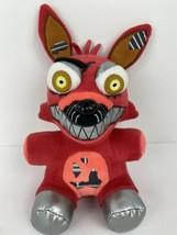 "Five Nights At Freddys Funko 9"" Stuffed Animal Nightmare Foxy Red 2016 Fnaf Toy - $19.80"