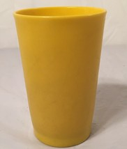 Vintage...Tupperware...6 Oz Stackable Tumbler...Yellow....Kid Cup - $1.93