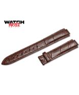 Original OEM Cartier Watch Brown Genuine Croco leather strap 16mm 18mm 1... - $127.00