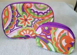 Clinique Mosaic Design Cosmetic Bag Pair - $6.00
