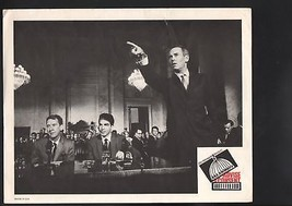 Advise and Consent Lobby Card-Franchot Tone arguing in a courtroom. - $28.03
