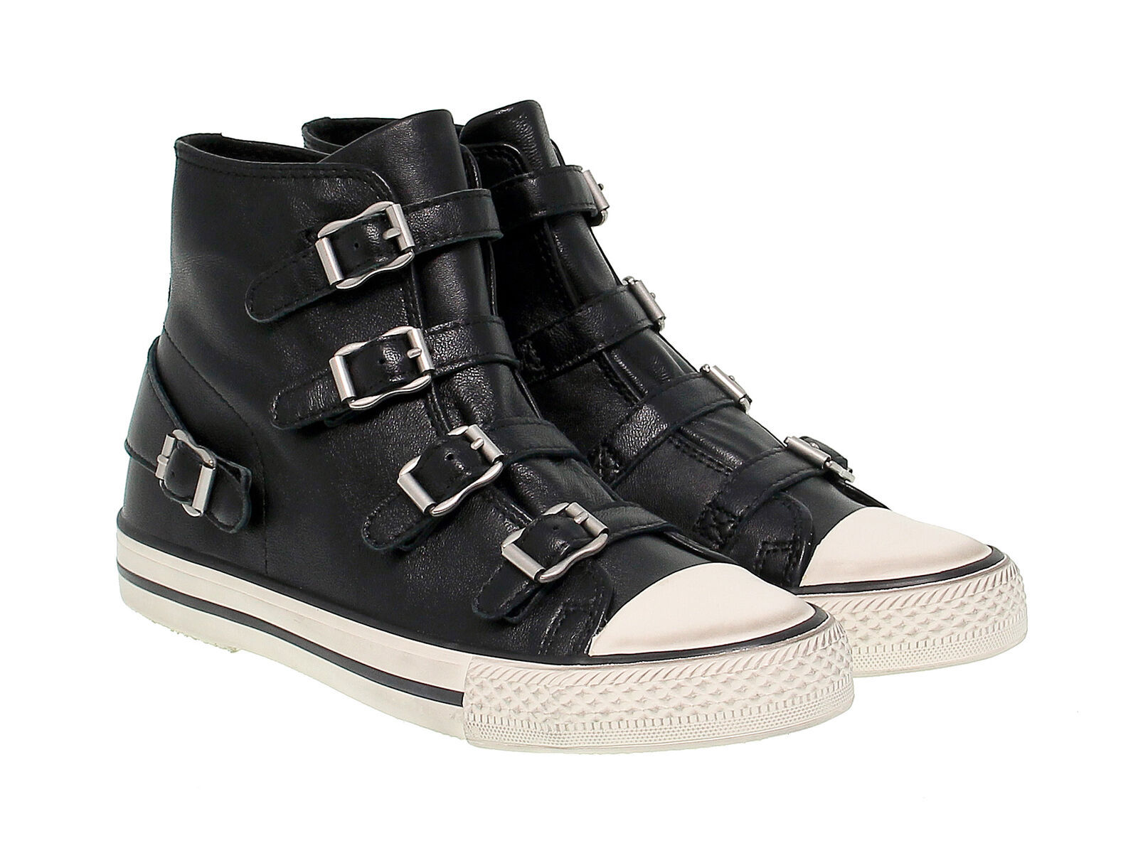 Sneakers ASH VIRGIN in pelle nero - Scarpe Donna