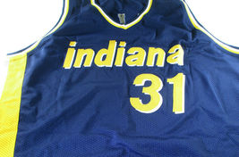 REGGIE MILLER / HALL OF FAME / AUTOGRAPHED INDIANA PACERS CUSTOM JERSEY / COA image 2