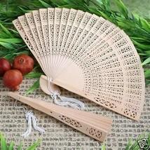 Sandal Wood Fans Sandalwood Wedding Favors Bridal Shower Favors Set of 40 - ₨3,056.17 INR