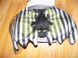Size Medium Dog Harness Halloween Themed Black White Striped Beetle Bug New - $12.00