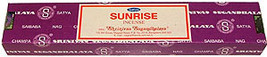 Sunrise Nag Champa Incense Sticks by Satya Sai Baba 40 gram box - $11.50
