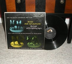 Music for Tap Dancing by Ben Light LP record RCA Victor 33-1/3 RPM 1959 - $3.99