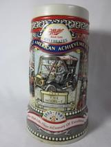Great American Achievement Miller Brewing Co 1908 Model T Beer Mug 1987 ... - $12.86
