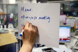 """4"""" x 6"""" White Dry Erase Cling Sheet Wall - Wind... - $4.90"""