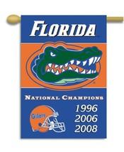 "Florida Gators Champion 2 Sided 28"" x 40"" House Banner Flag W/ Pole Sleeve - $24.65"