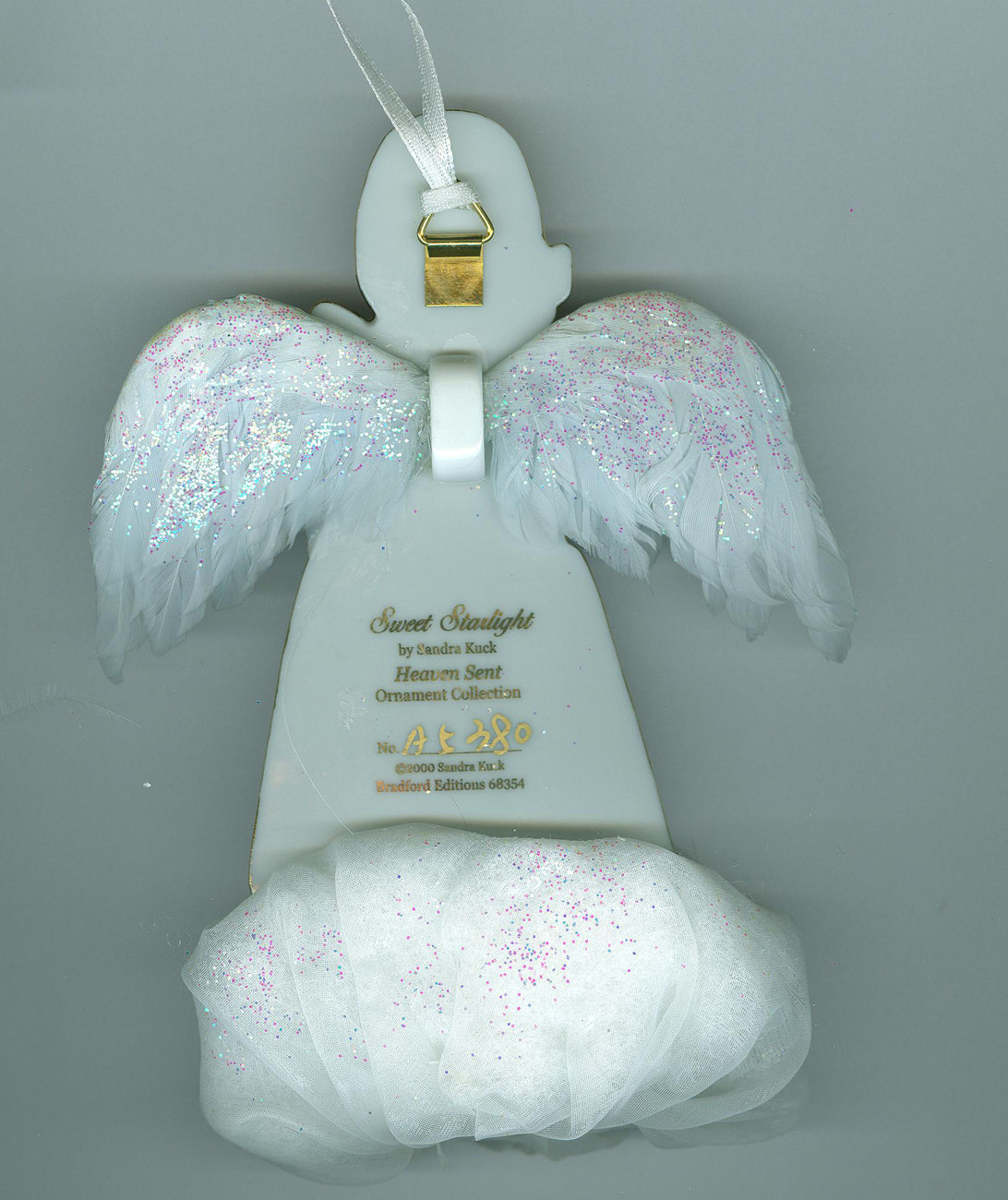 Heavens Little Angels 3 Christmas Angel Cherub Ornaments