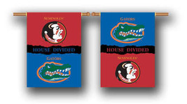 """Florida State House Divided 2 Sided 28"""" x 40"""" House Banner Flag W/ Pole ... - $24.65"""